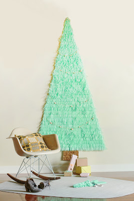paper christmas tree - diy