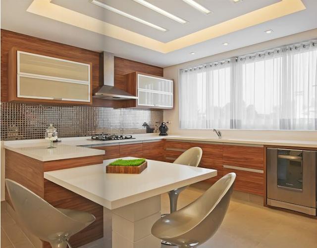 decoracao piso branco:UM sonho a DOIS: Cozinha em Cores!