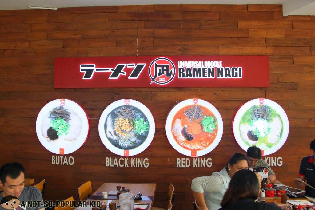 Ramen Nagi's Top 4 Noodles!