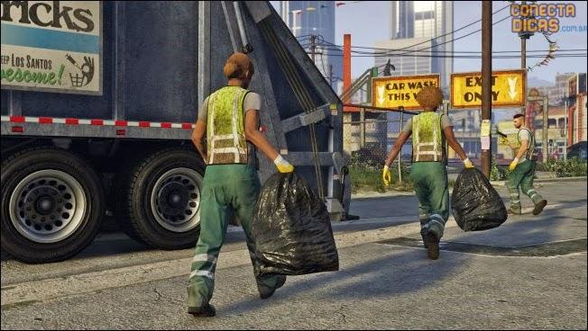 Heists GTA V - Missão caminhão de lixo
