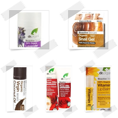 Productos Dr Organic