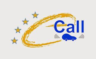 Logo del sistema e-call para Europa.
