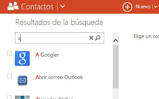 contactos Outlook