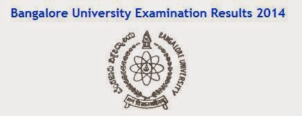 Bangalore University Examination Results 2014 MBA 4th Semester June 2014