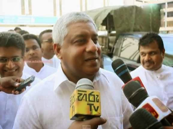 Tiran Alles speaks about Champika Ranawaka