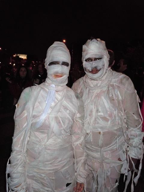 West Hollywood Halloween Carnaval Mummies