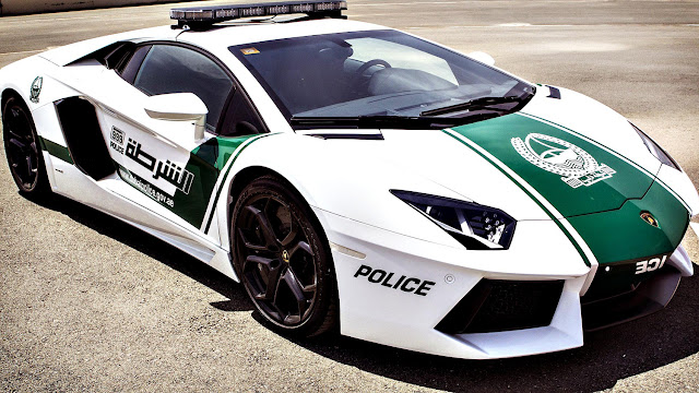 Dubai police car
