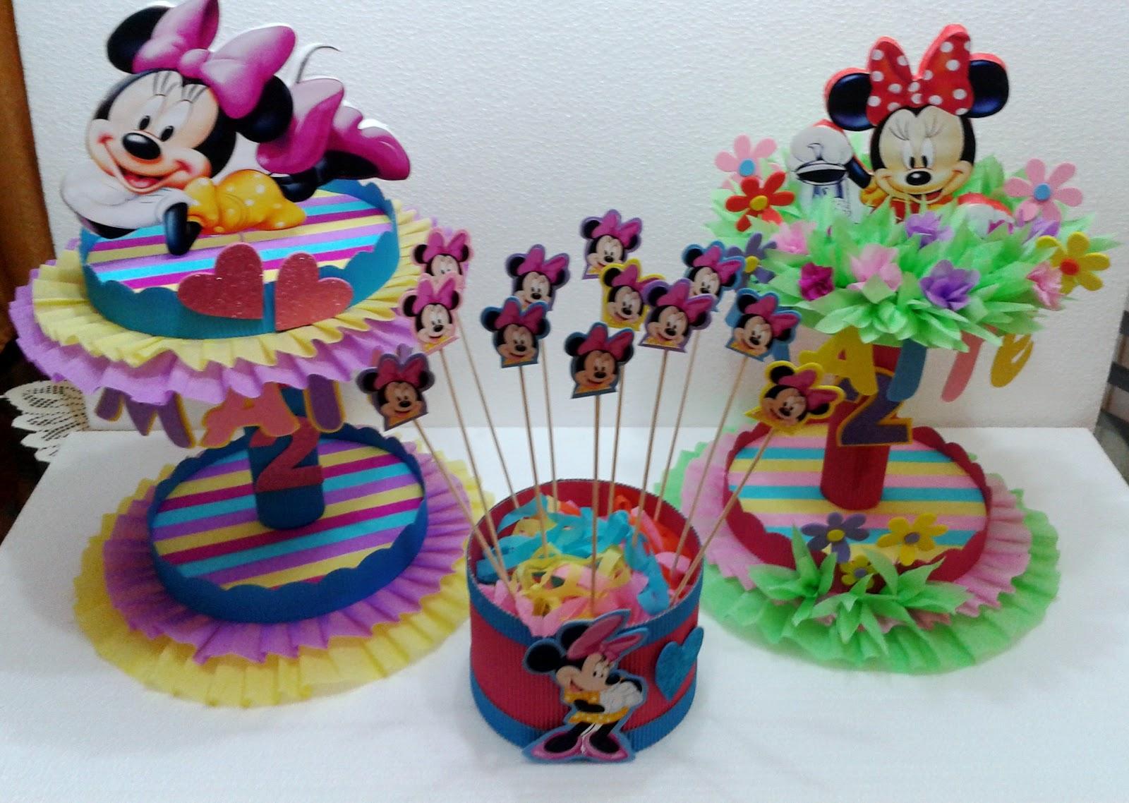Decoraciones infantiles pack minnie mouse for Decoraciones infantiles