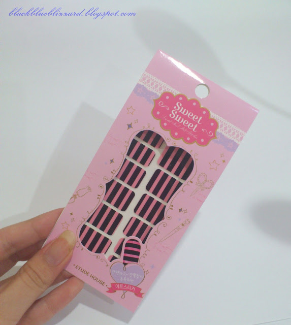 etude house, nail sticker, nail decoration