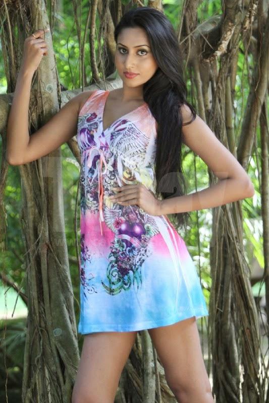 Amanda Silva sri lankan model