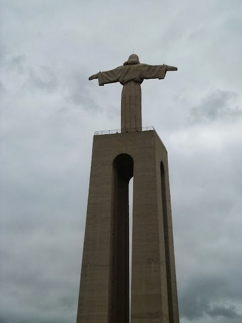 Statue of Christ the King in Lisbon on Semi-Charmed Kind of Life
