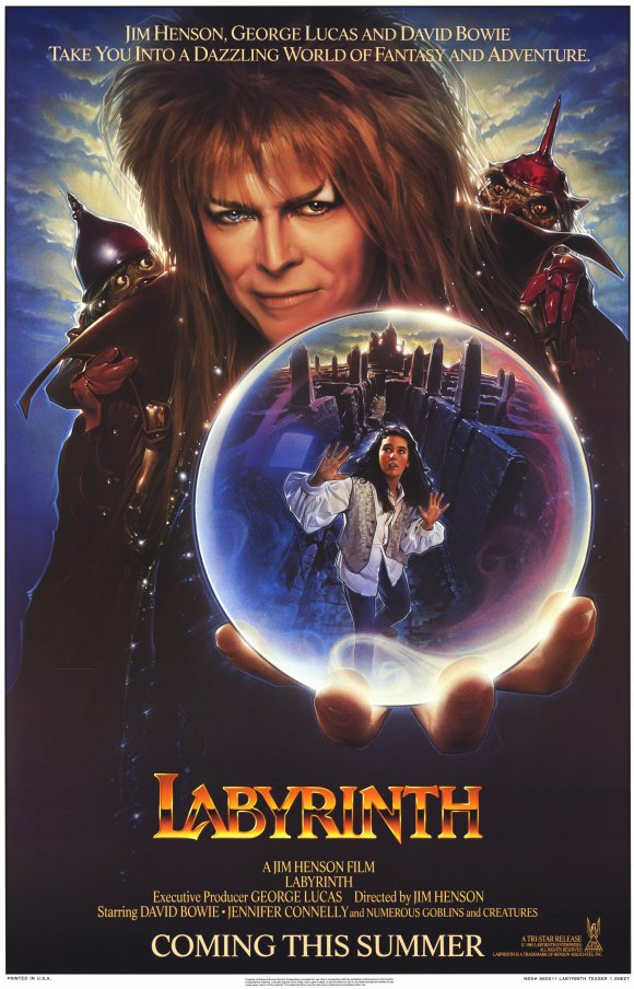 Movies with Moody: Labyrinth (1988) Labyrinth 1986 Poster