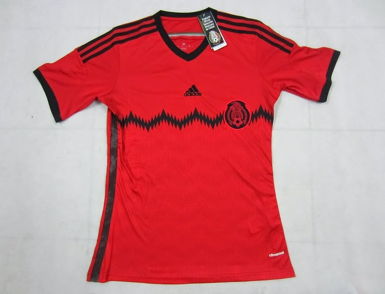 2014 World Cup Mexico Away Thailand Soccer Jersey Fans Version