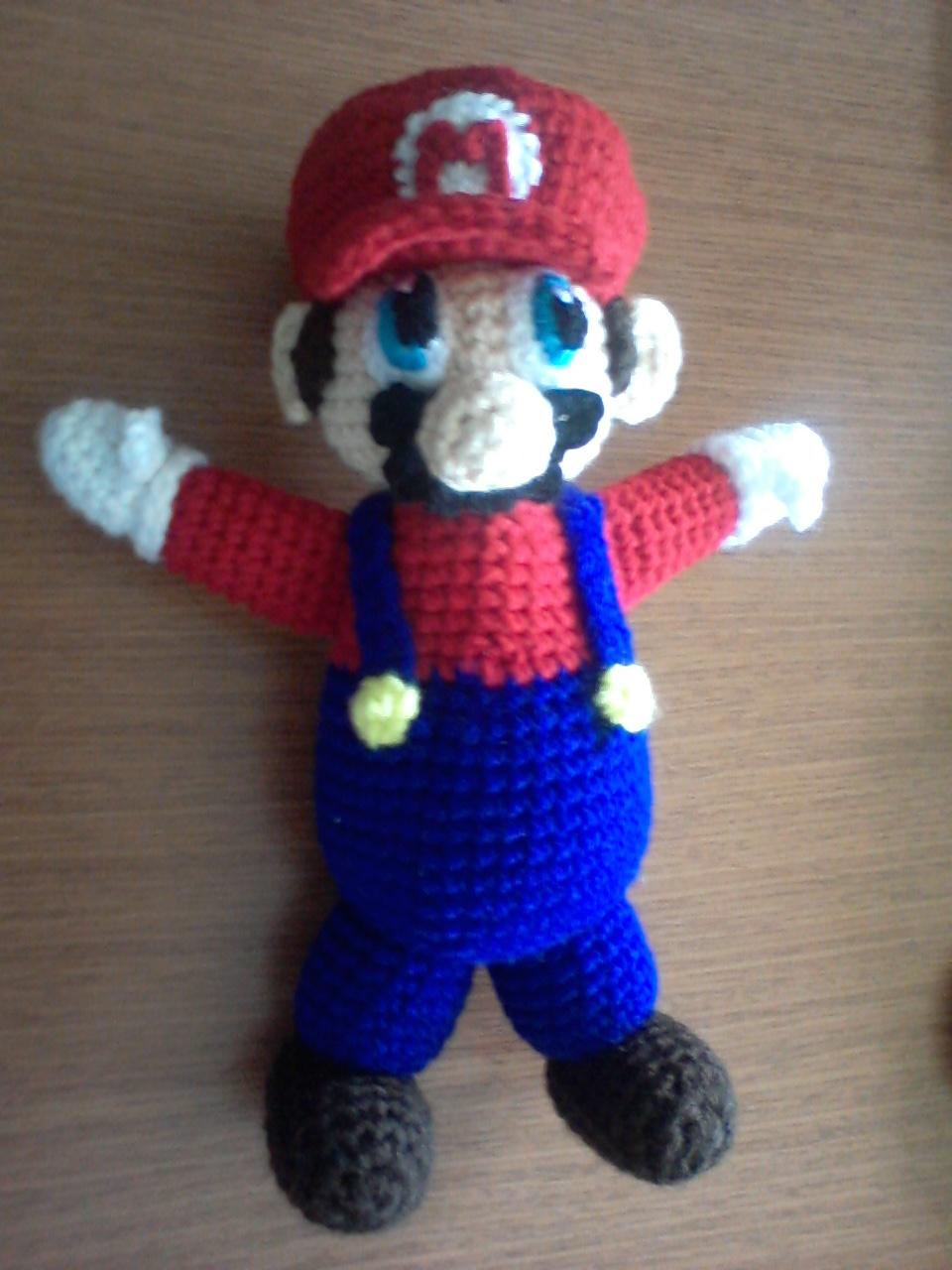 Patrones De Mario Bros Tejido Jongose Ninja