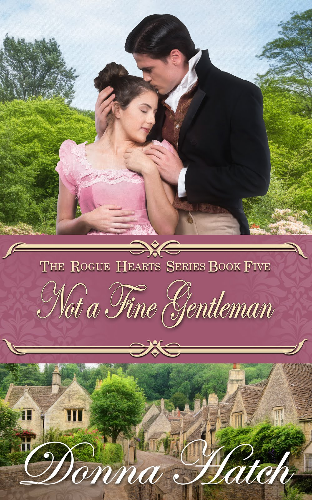 Cover Reveal- Not a Fine Gentleman