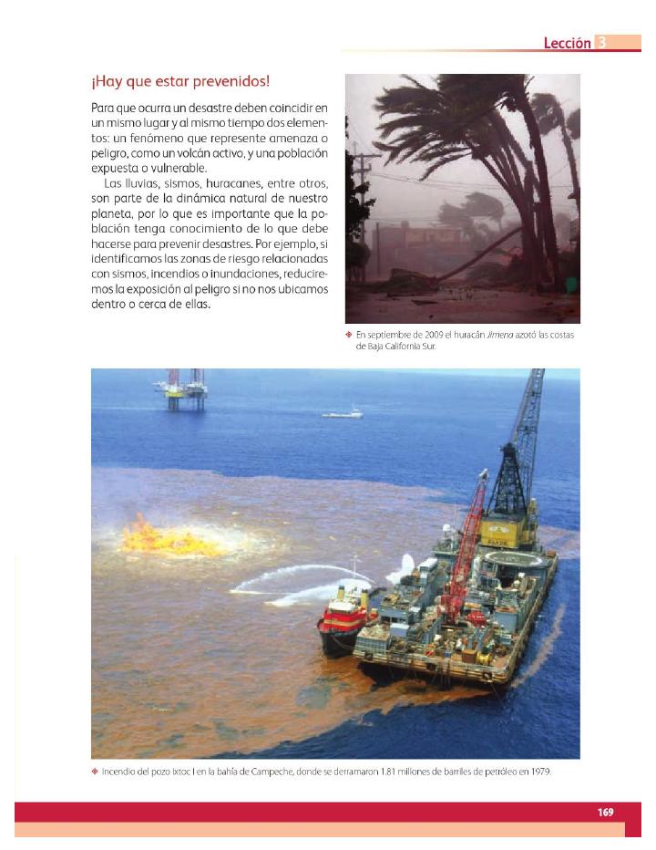 Los desastres que enfrentamos - Geografía 4to Bloque 5 2014-2015