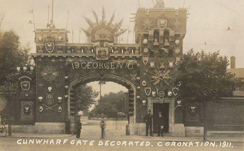 Coronation HMS Vernon 1911