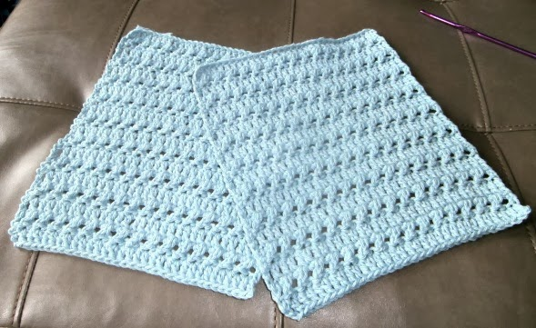 Crochet Patterns Dish Towels : Tracys Crochet Bliss: Crochet Kitchen Towels-Free Pattern