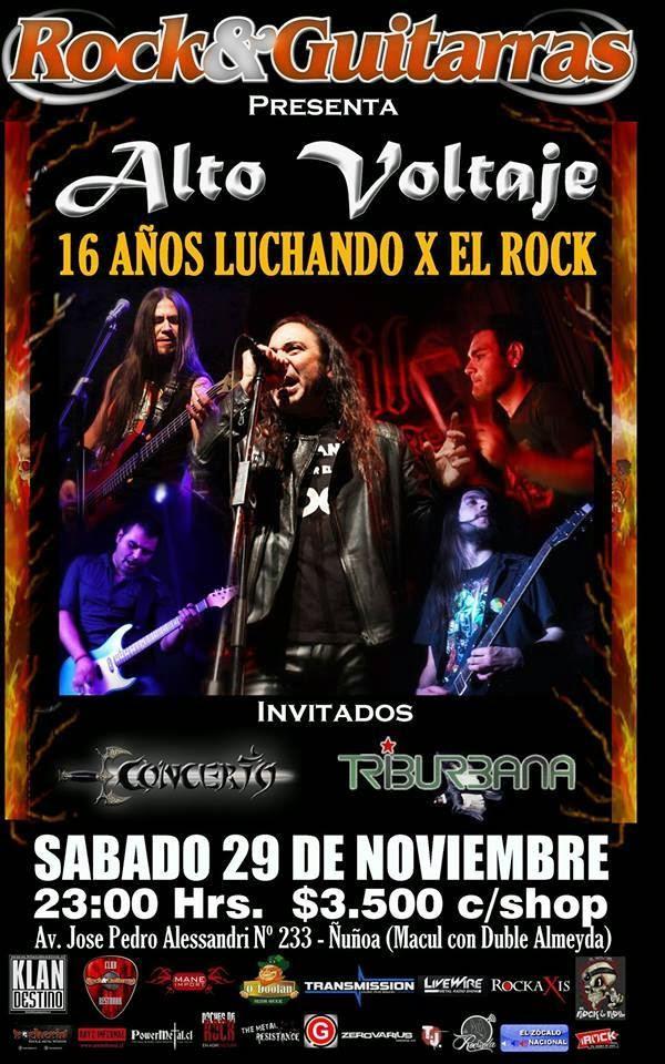Alto Voltaje - Luchando Por El Rock