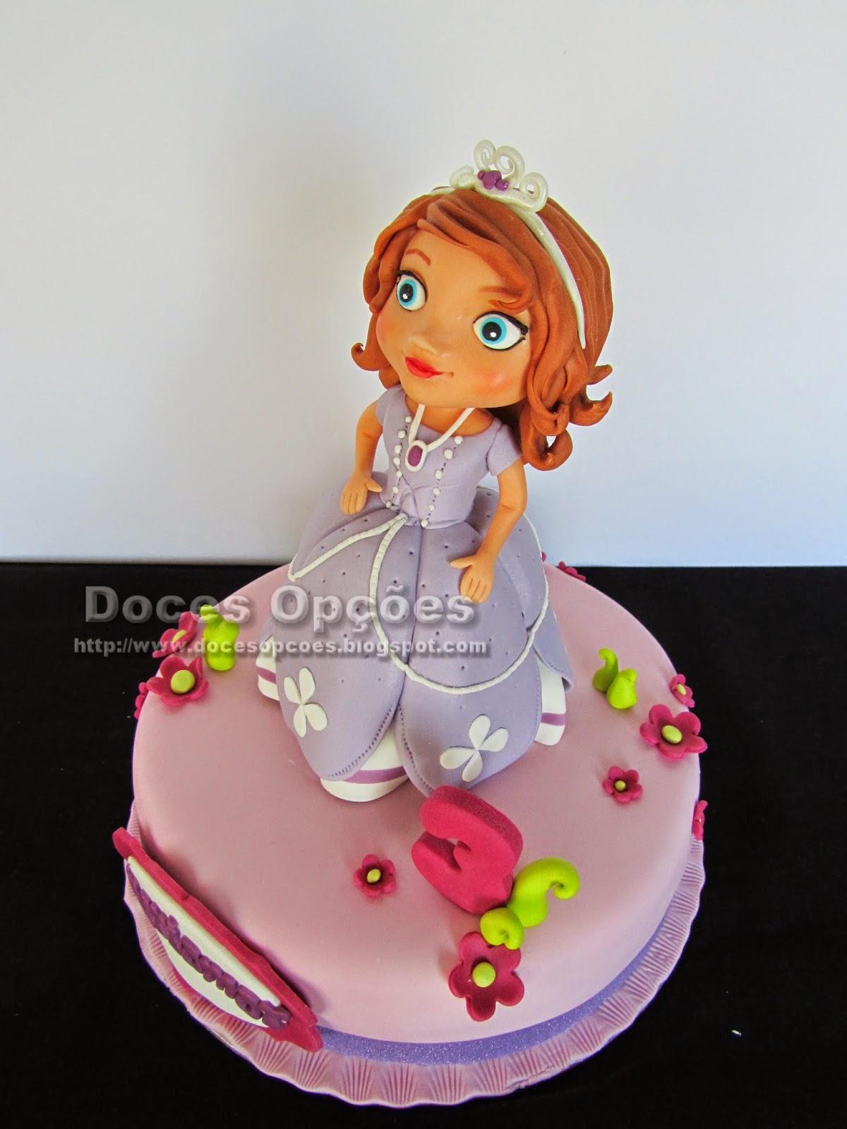 bolos princesas aniversário bragança