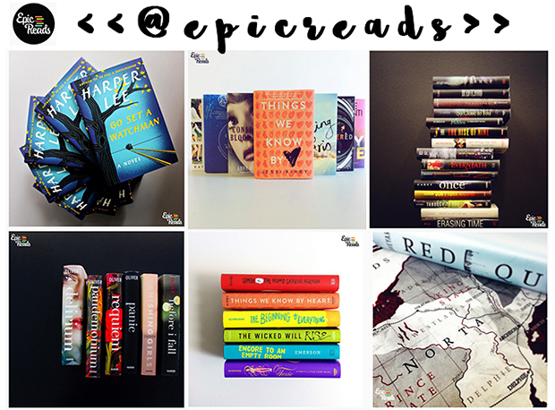 #bookstagramers, @epicsreads,
