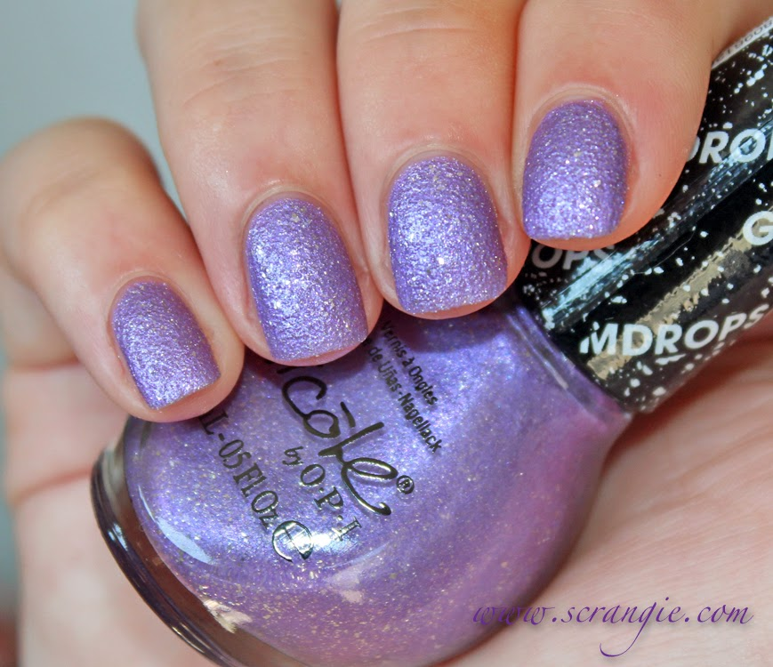 scrangie nicole by opi gumdrops textured polish