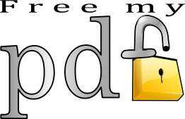 Remove passwords and Restrictions of PDF file