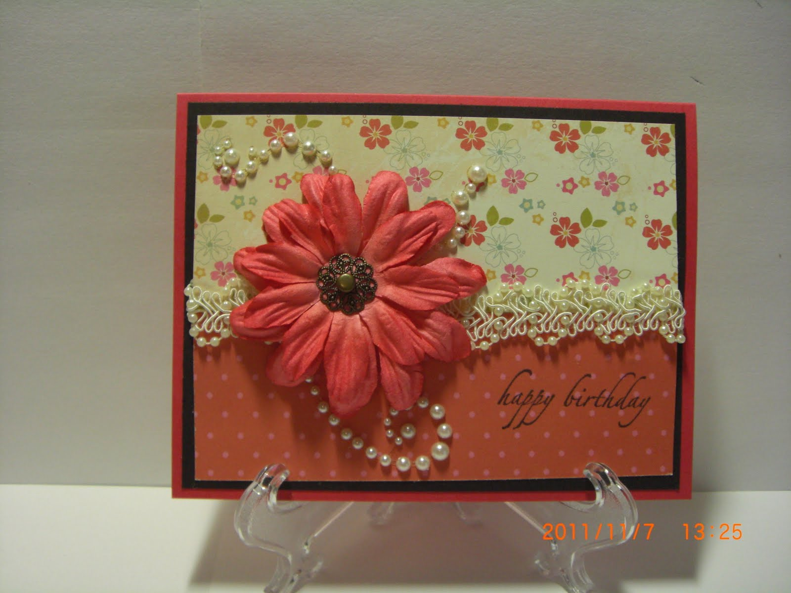 How to scrapbook wedding cards - Birthday Cards And A Wedding Card