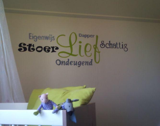 MirMik Muurschilderingen: Leuke teksten op de babykamer