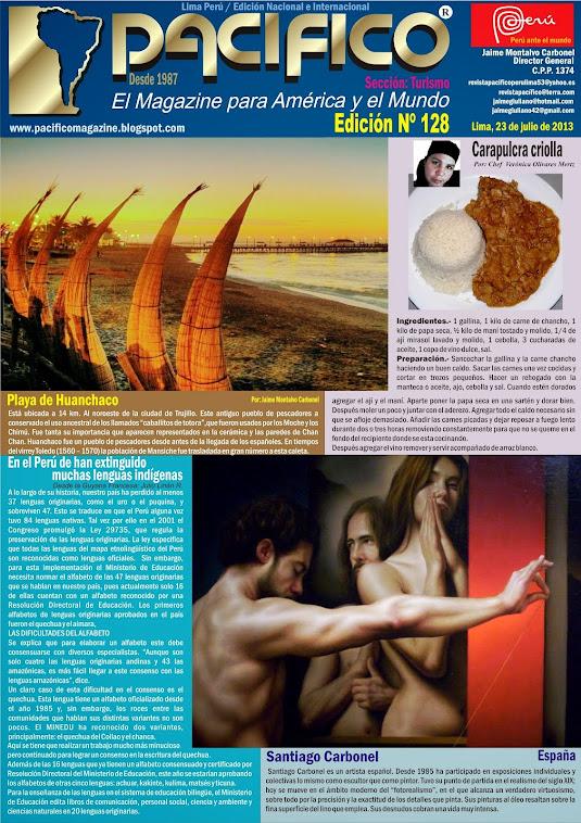 Revista Pacífico Nº 128 Turismo