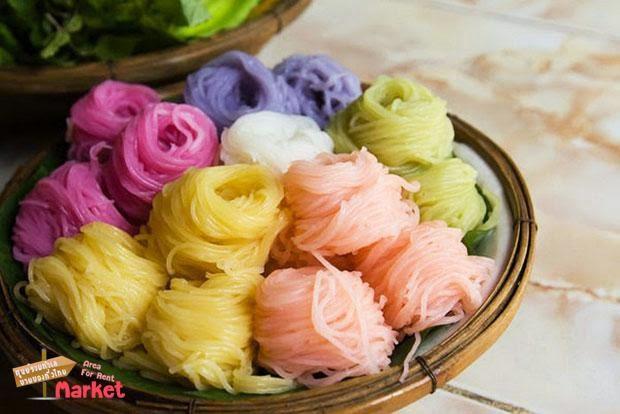 ธุรกินแฟรนไชส์ที่น่าสนใจขนมจีนสมุนไพร 7 สี ช่องทางทำเงิน เป็นอาชีพเสริมหรืออาชีพหลักก็ได้