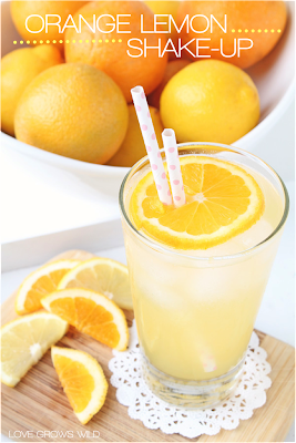 Orange Lemon Shake-ups