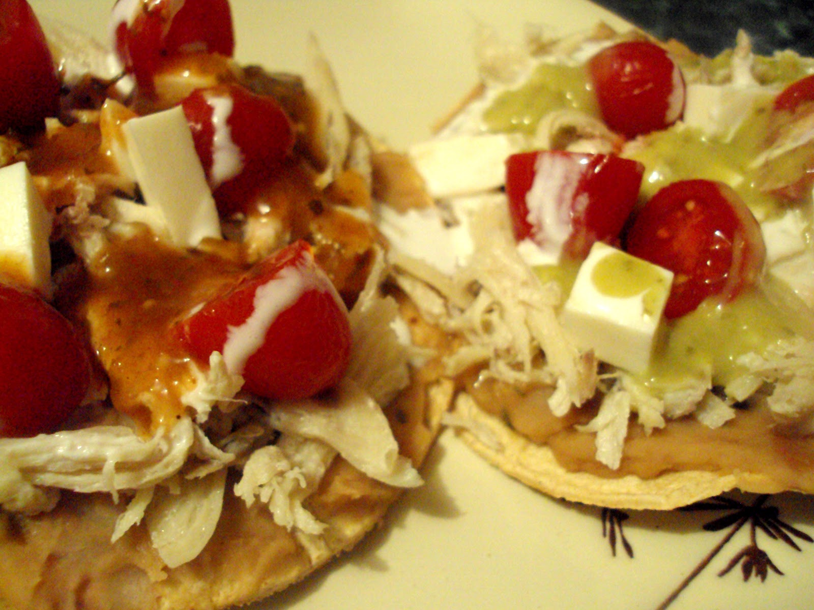 The Gab Housewife Chronicles: Chicken Tostadas