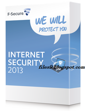 F Secure Internet Security 2014 2013 FSIS 5 Years 1PCs-in Software from Ele