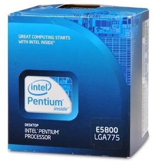 Intel Pentum Dual Core E5800 Processor box