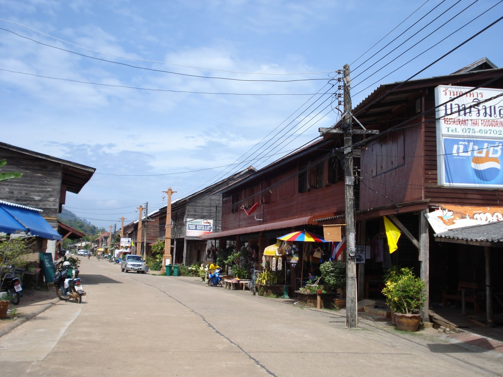 how to get to lanta old town