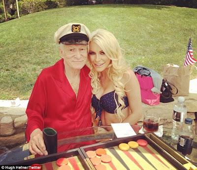 Hugh Hefner to wed Crystal Harris