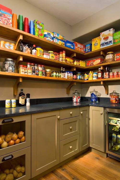 Rak dapur sederhana murah
