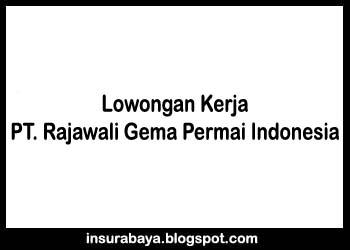 Lowongan Kerja Surabaya Teknisi dan IT Support di PT RGPI