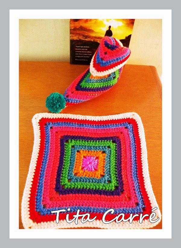 Um único Square que vira um sapato colorido para uma travessia