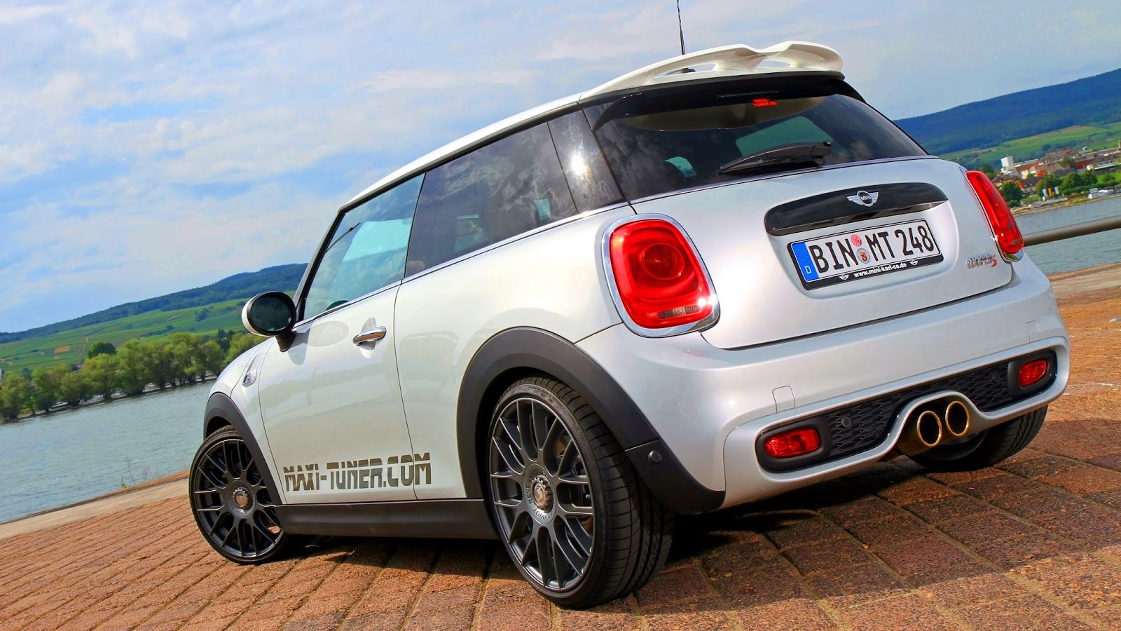 maxi tuner mini cooper s f56 2014 aro 18 2 0 turbo 220 cv. Black Bedroom Furniture Sets. Home Design Ideas
