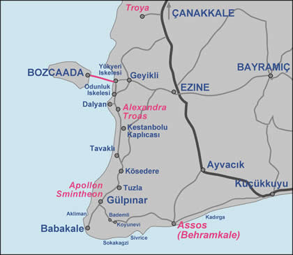Assos Maps