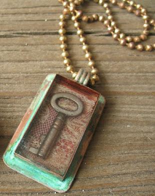 Vintage Key Pendant