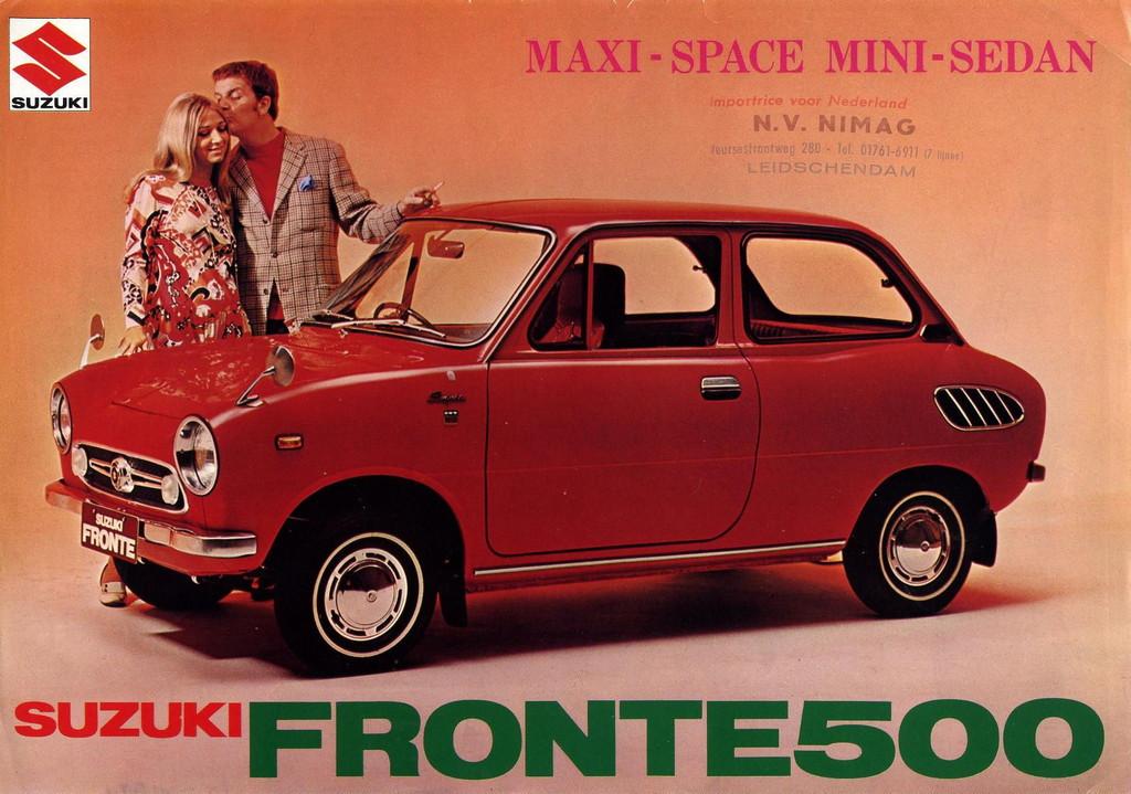 suzuki fronte 500, lc50, kei car, mały samochód, niewielki silnik