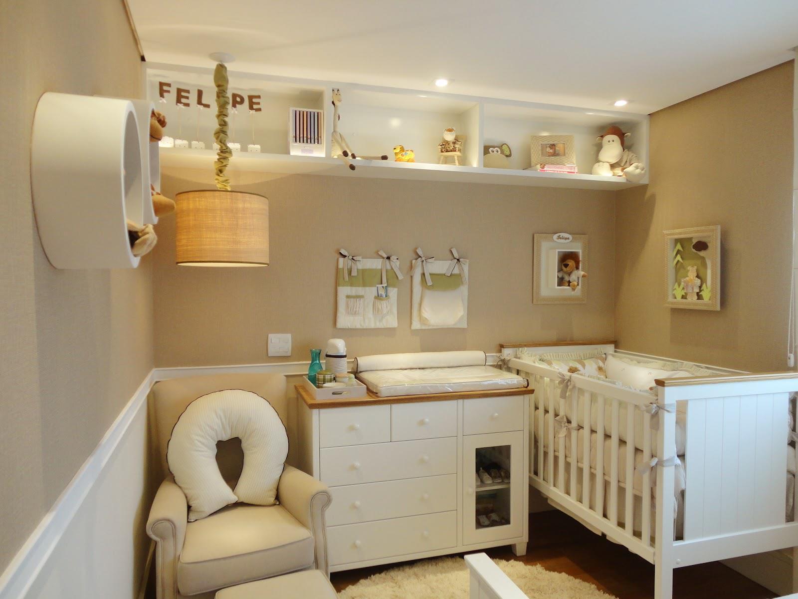 clean! Não poderia faltar o quarto para o baby!! E o bom dessa cor  #9A6F31 1600x1200 Banheiro Cor Ideal