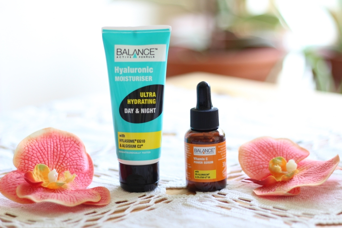 Balance Active Formula *Hyaluronic Moisturiser and *Vitamin C Serum review