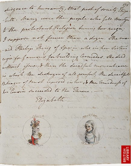 Jane Cassandra Austen notebook