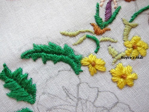 Royces Hub Basic Embroidery Stitches Satin Stitch