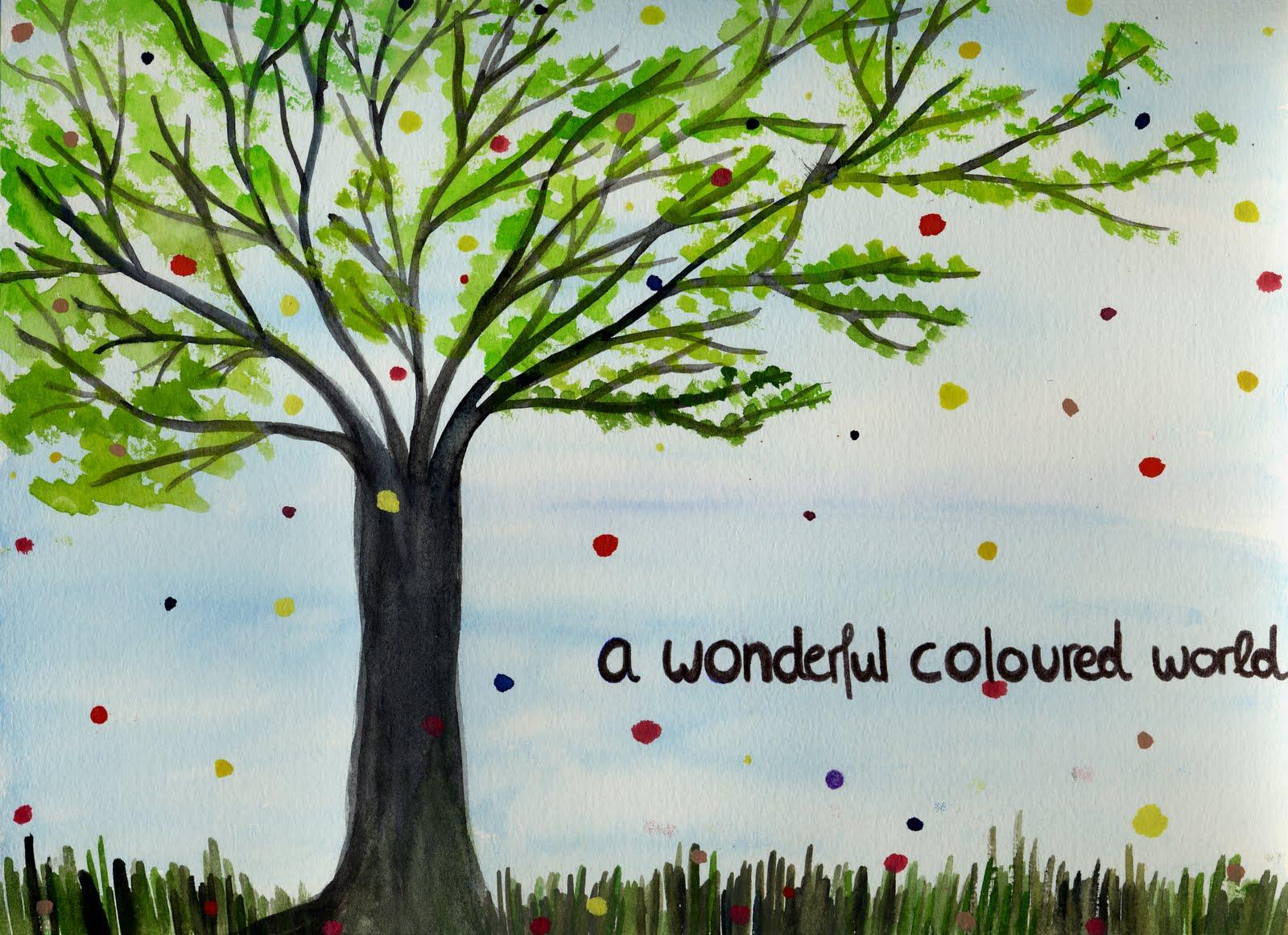 a wonderful coloured world