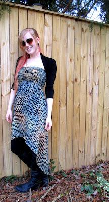 IMG 0389+(2) - Warm Ways to Style a Strapless Dress
